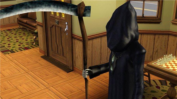 Как в Sims 3 подружиться со смертью?