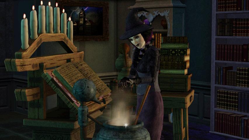 Как в Sims 3 стать ведьмой?