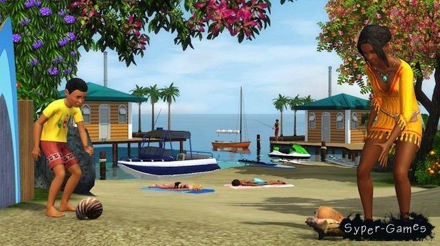 Симс 3 райские острова: картинки из игры | Скриншот 19