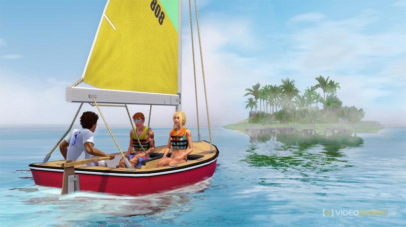 Симс 3 райские острова: картинки из игры | Скриншот 14