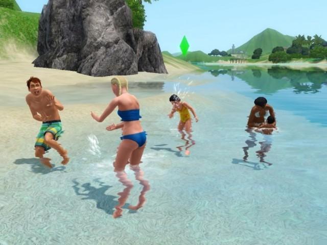 Симс 3 райские острова: картинки из игры | Скриншот 13