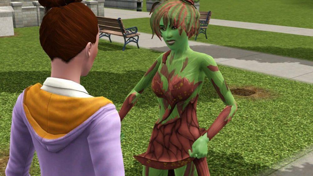 Как в sims 3 стать зомби - 0e0