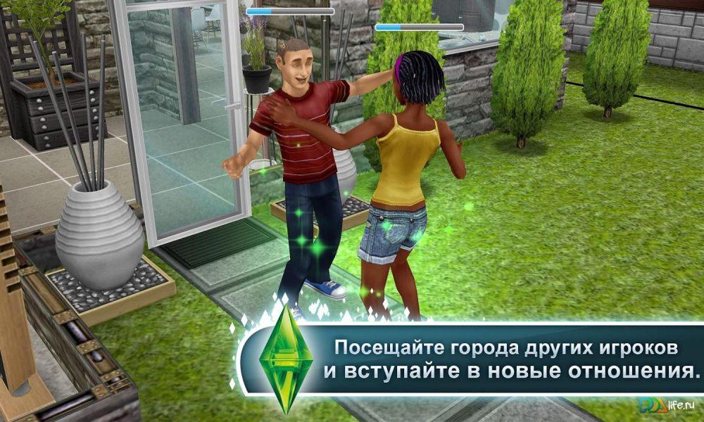 Скачать на андроид игры симс 4