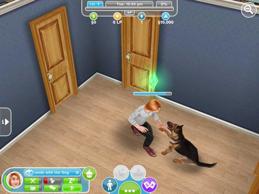 Sims Freeplay на андроид и iOS | Скриншот 5