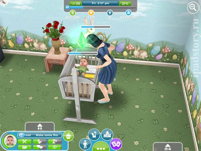 Sims Freeplay на андроид и iOS | Скриншот 6