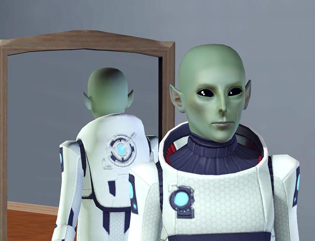 Инопланетяне в симс 3
