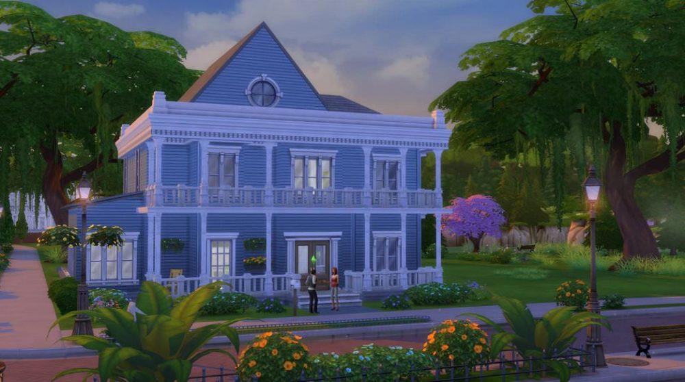 Новые модели домов в Sims 4