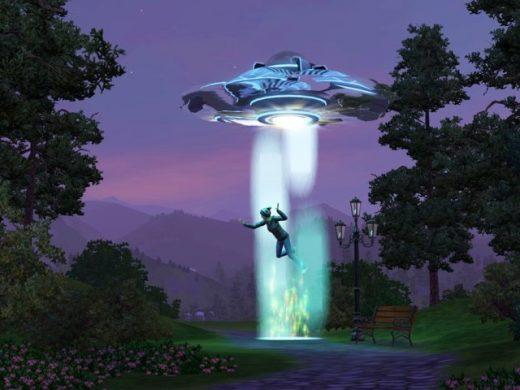 Как стать инопланетянином в Симс 3?