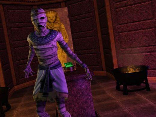 Как стать мумией в Симс 3