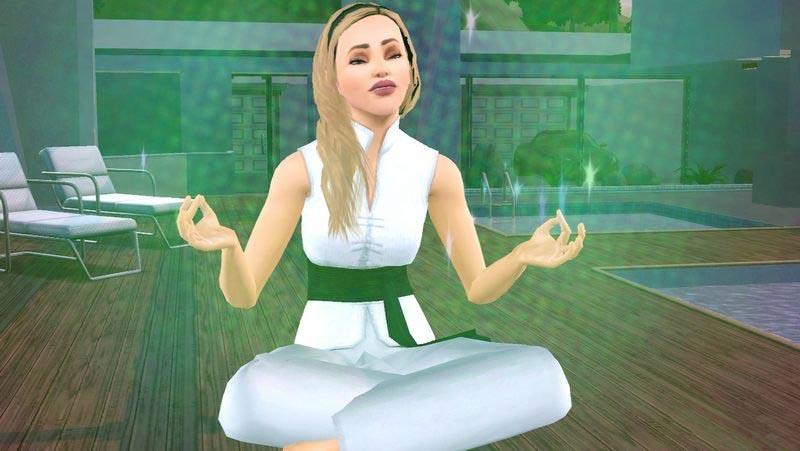 Как медитировать в Симс 3