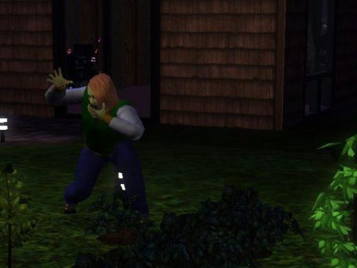 Как уберечь сад от зомби в Симс 3