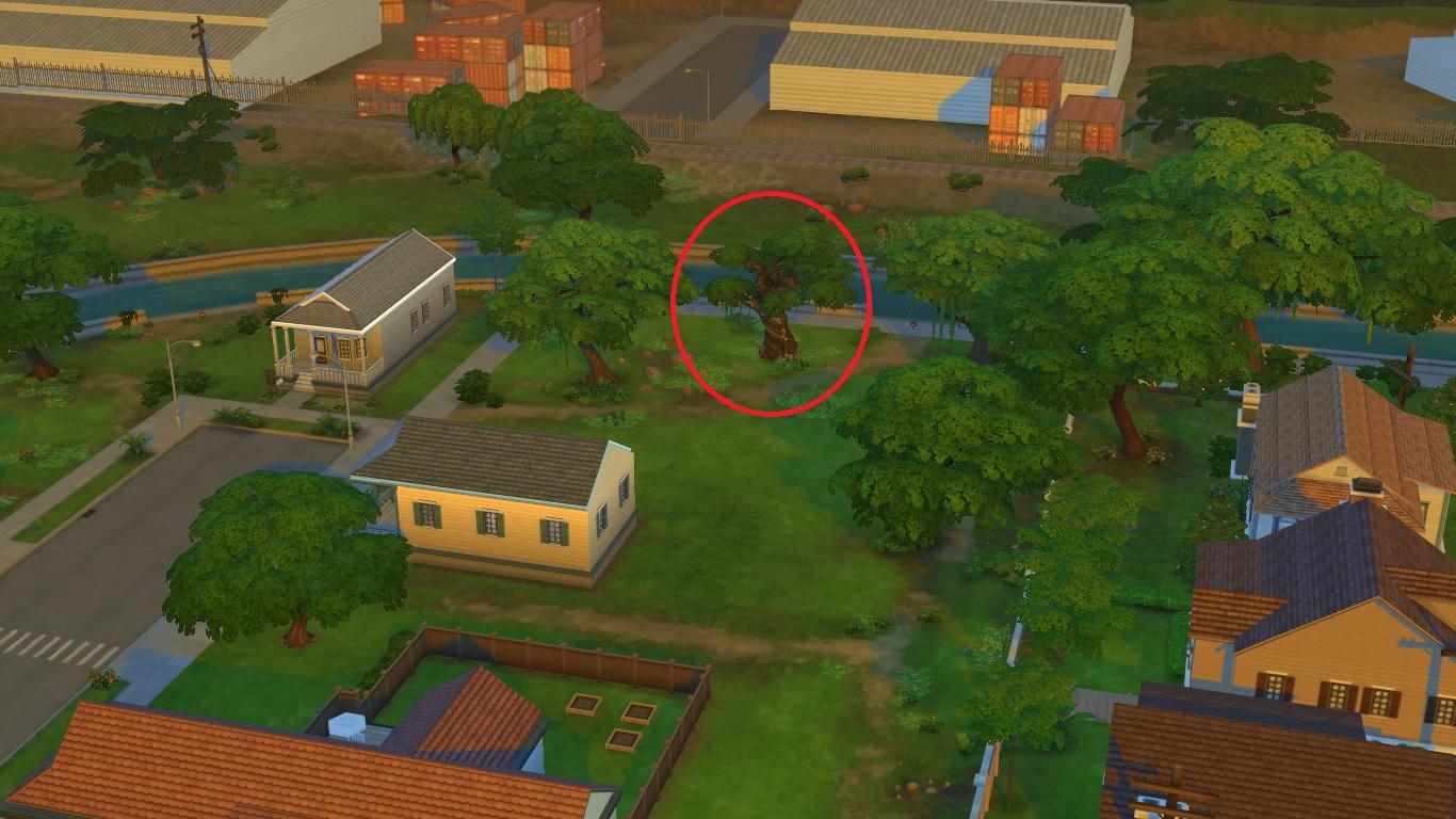 Секретные места в Симс 4 | Скриншот 22