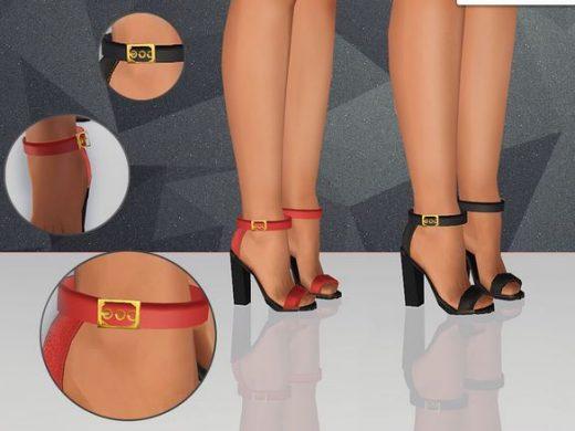 """Женская обувь """"Легкая походка"""" для Симс 3"""