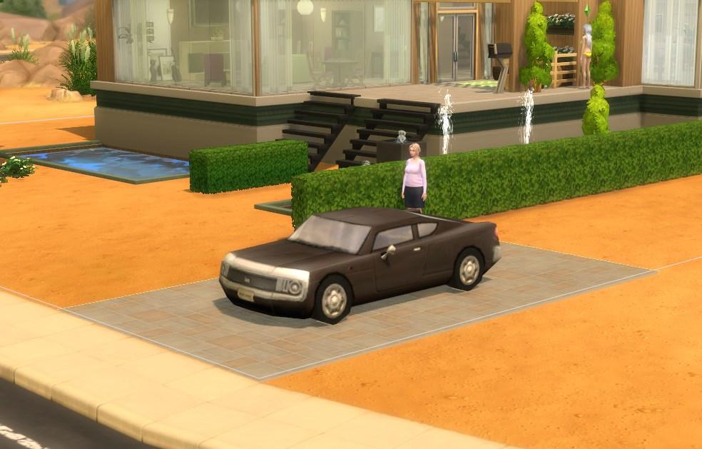 Где найти машину в Симс 4