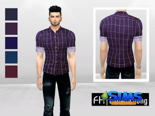 Abrasian Slim-Fit Polo Shirt