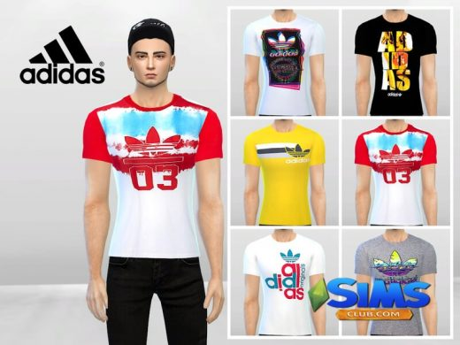 Adidas 001 Tees