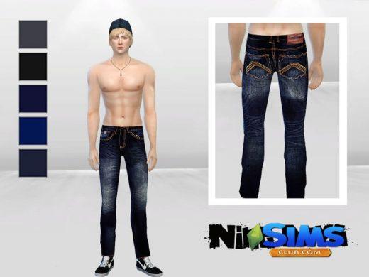 Bad Xtian Slim Jeans