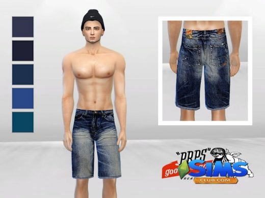 Big Fade Urban Denim Short