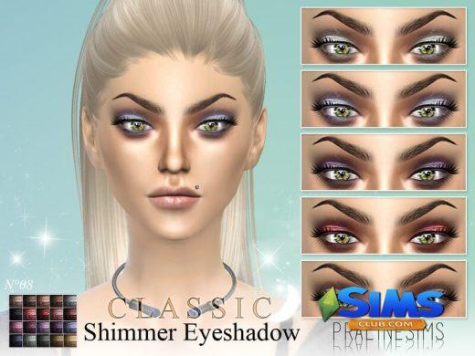 Classic Shimmer Eyeshadow N08