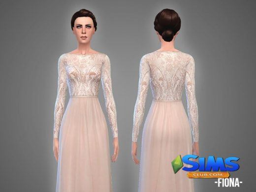 Fiona - wedding gown