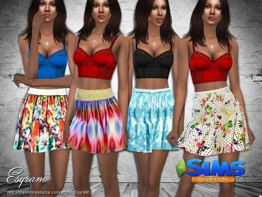 Garten Party Skirt