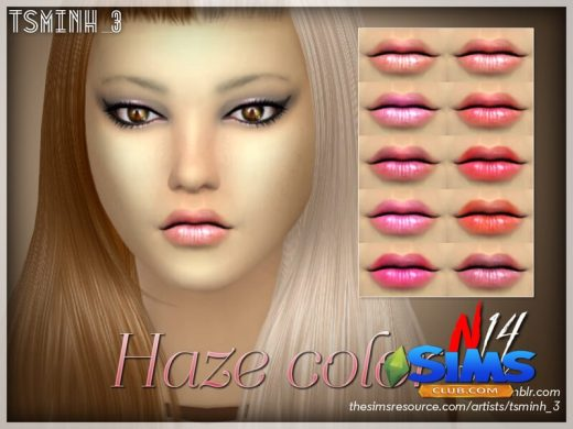 Haze Color Lipstick