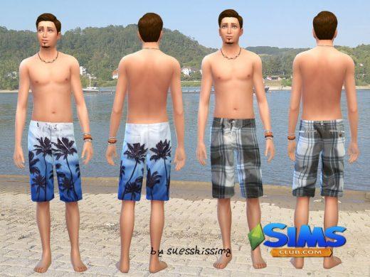 Male Swimshorts Set