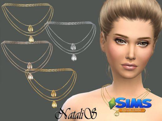 NataliS_Three layer chain with pendants