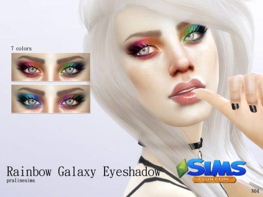 Rainbow Galaxy Eyeshadow