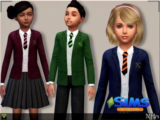 S4 Child School Uniforms
