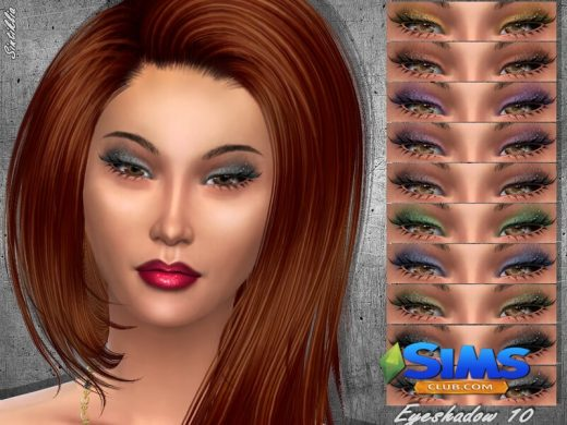 Sintiklia - Eyeshadow 10