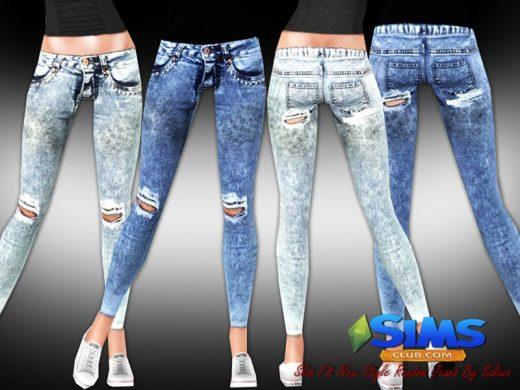 Slim Fit Random Jeans
