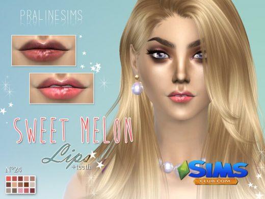 Sweet Melon Lips N24
