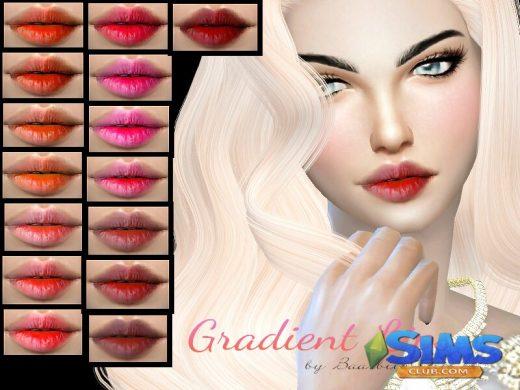 Gradient Lipstick