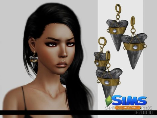 LeahLillith Shark Tooth Earrings