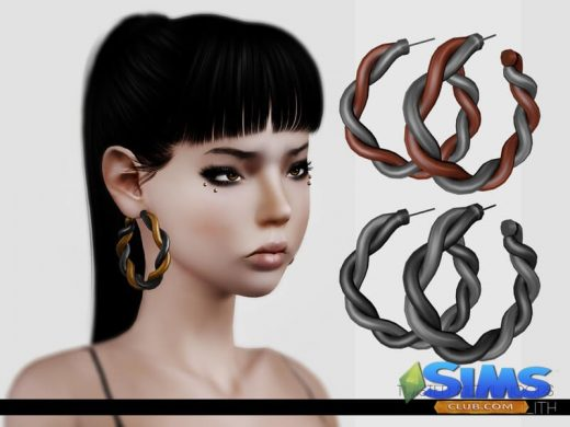 LeahLillith Twisted Metal Hoops