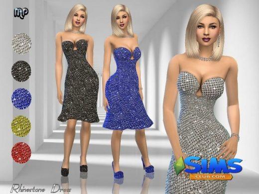 MP Rhinestone Dress