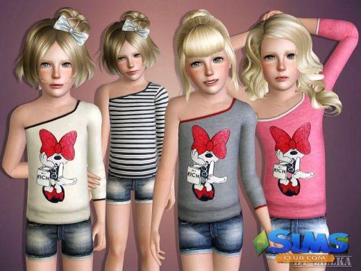 Minnie One Shoulder Shirt