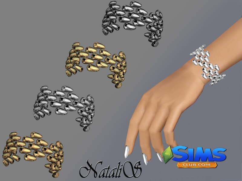 NataliS TS3 Metal beads bracelet FT-FE