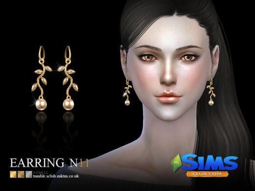 S-Club LL ts4 earring 11