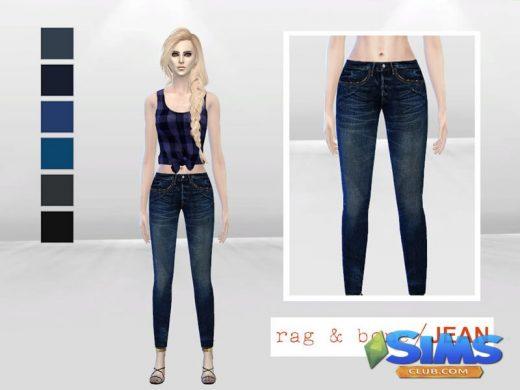 Sasha Skinny Denim Jeans