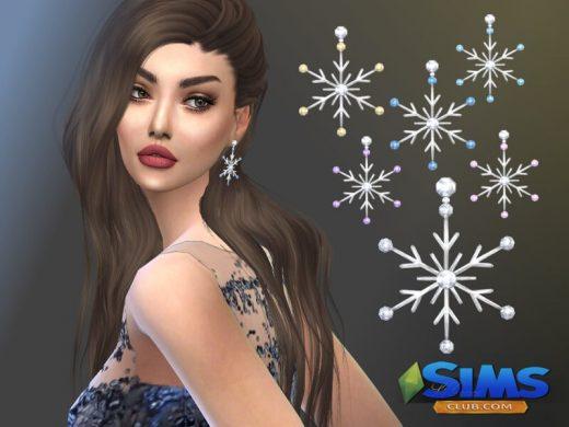 Snowstar Earrings