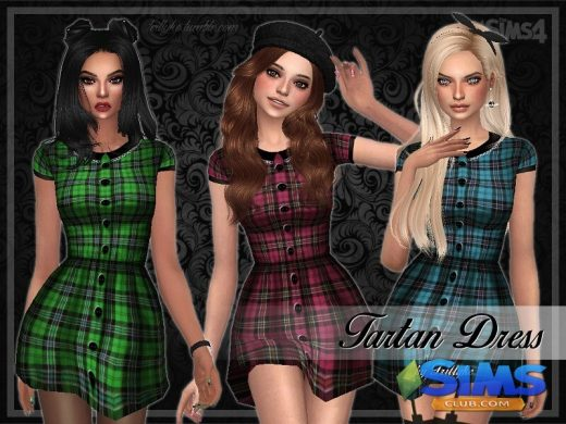 Trillyke - Tartan Dress