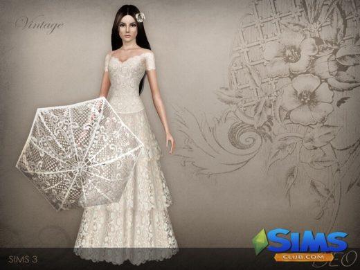 Vintage Wedding Dress 38