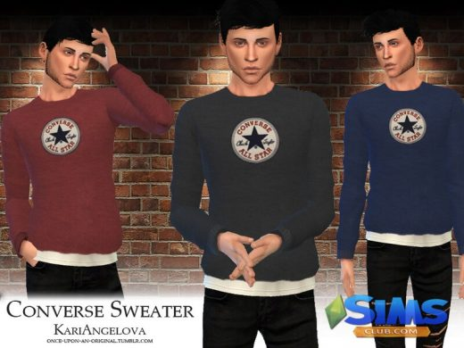 All Star Converse Sweater