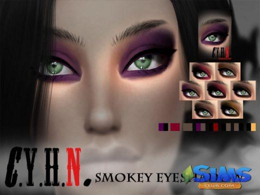 CYHN smokey eyeshadow