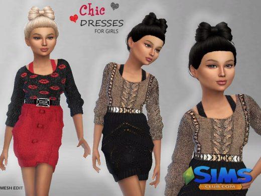 Chic Dresses For Girls