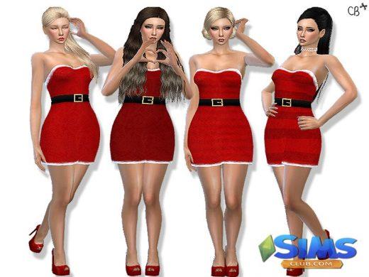 Classic Christmas dress