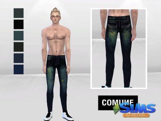 Iced Indigo Denim Skinny Jeans