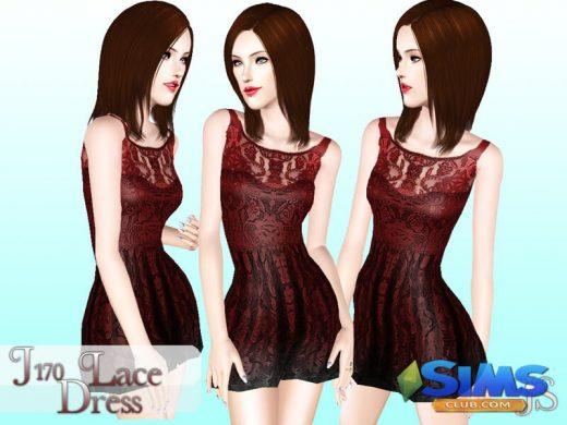 J170 Lace Dress